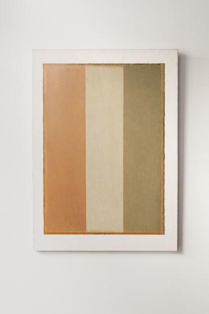 JEAN-PIERRE PINCEMIN Sans Titre, 1990 Huile sur papier marouflé sur toile / Oil on paper on canvas 110 x 80...