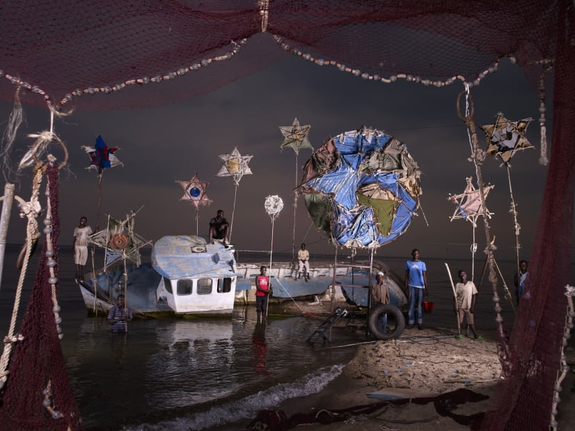 NICOLAS HENRY: THE EARTH, THE STARS AND THE WRECK, 2012