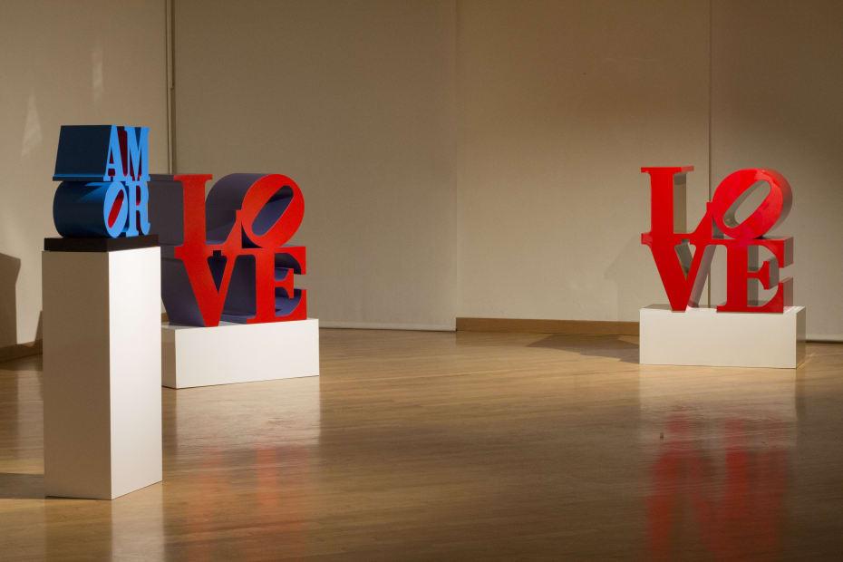 Robert Indiana © Galleria d'Arte Maggiore g.a.m.