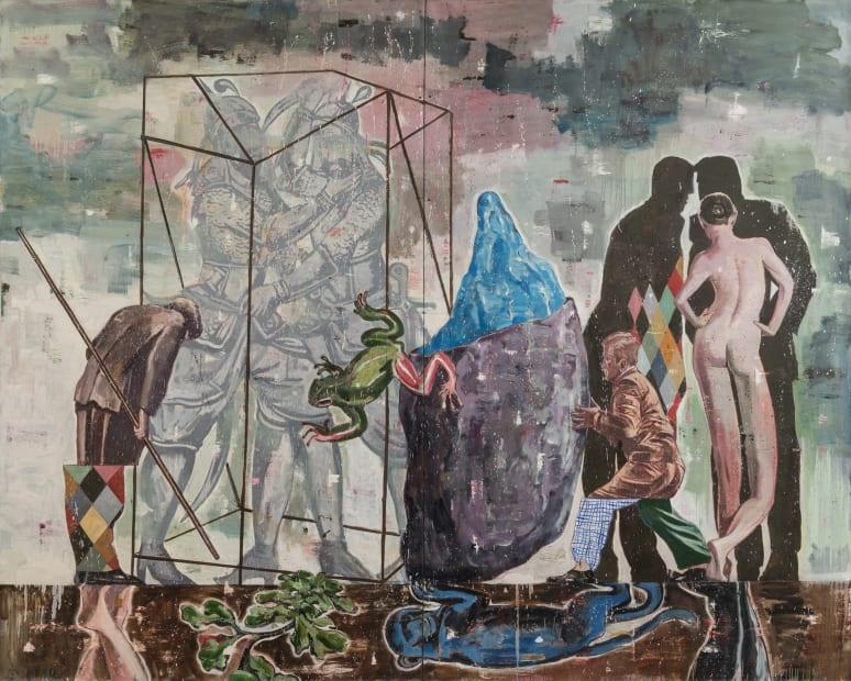 Nicky Nodjoumi, Path Leading to Complex Landscape, 2015