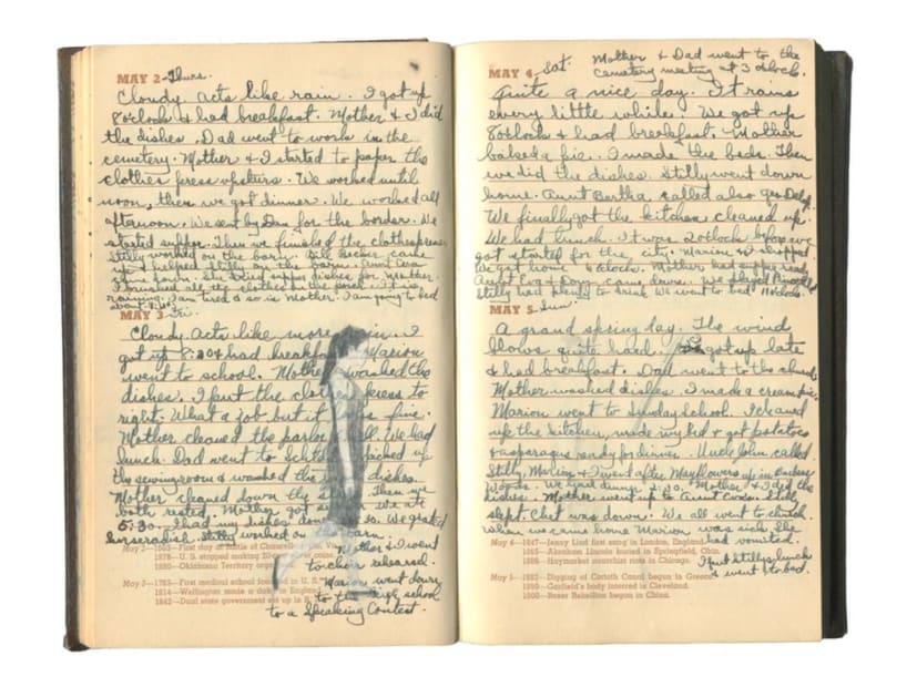 Rania Bellou, The Diary of M. Becker 1940, 2015