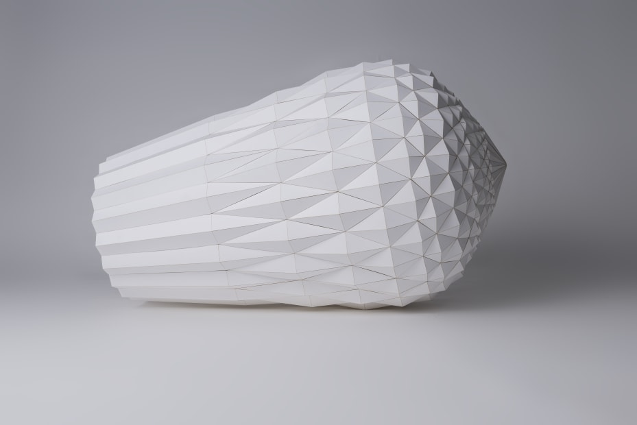 Khalvat (Paper Maquette with Outer Layer), 2014