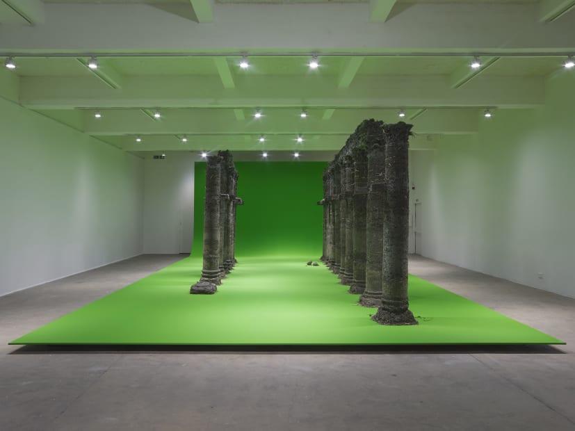 curtain call, variations on a folly, 2021