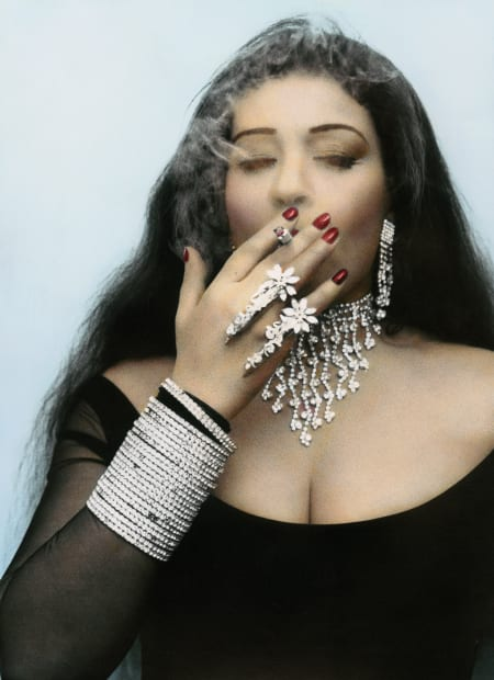 Fifi Smoking, Cairo, 2000