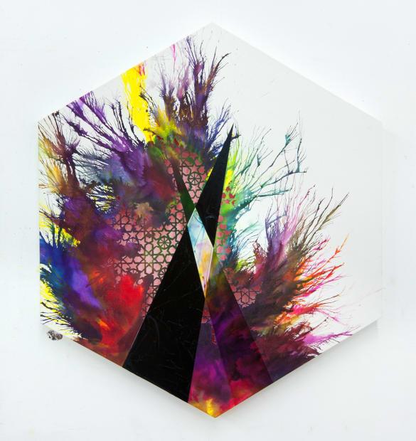 Untitled (Hexagon), 2015