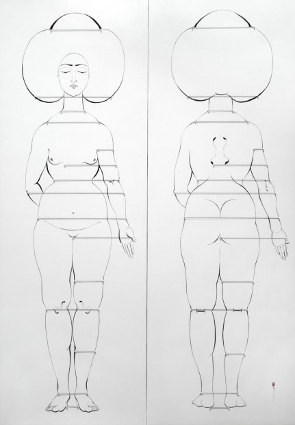 Anthropometric Front and Back, 2011
