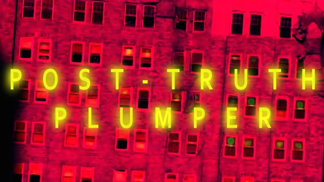 Post-Truth Plumper, 2017