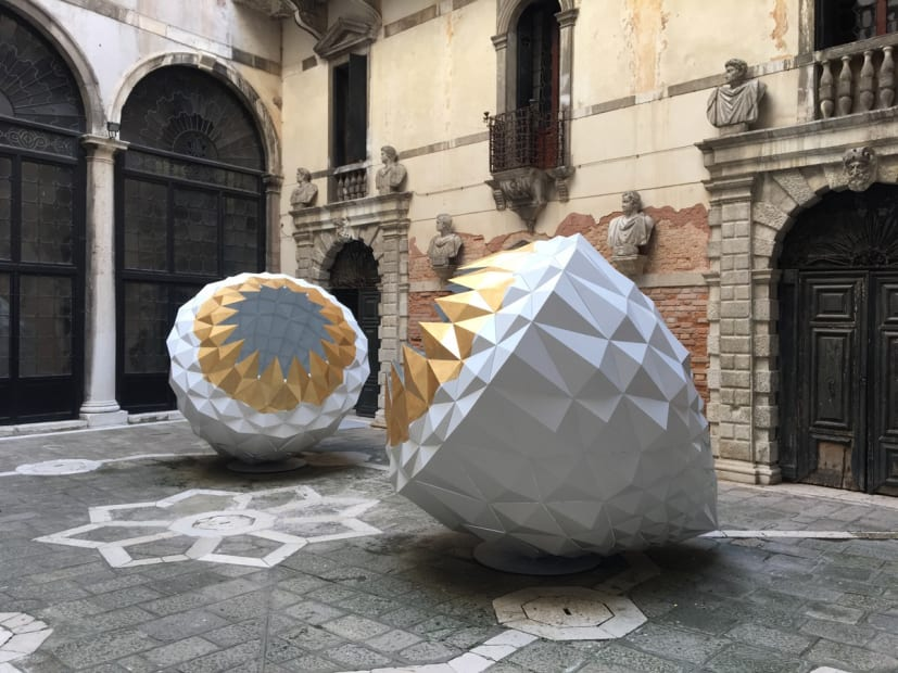 The Spark Is You: Parasol unit in Venice, 2019