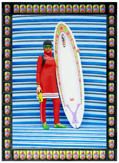Surfer in Red, 2015