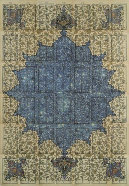 Coelestis (after Hafez) 3, 2011