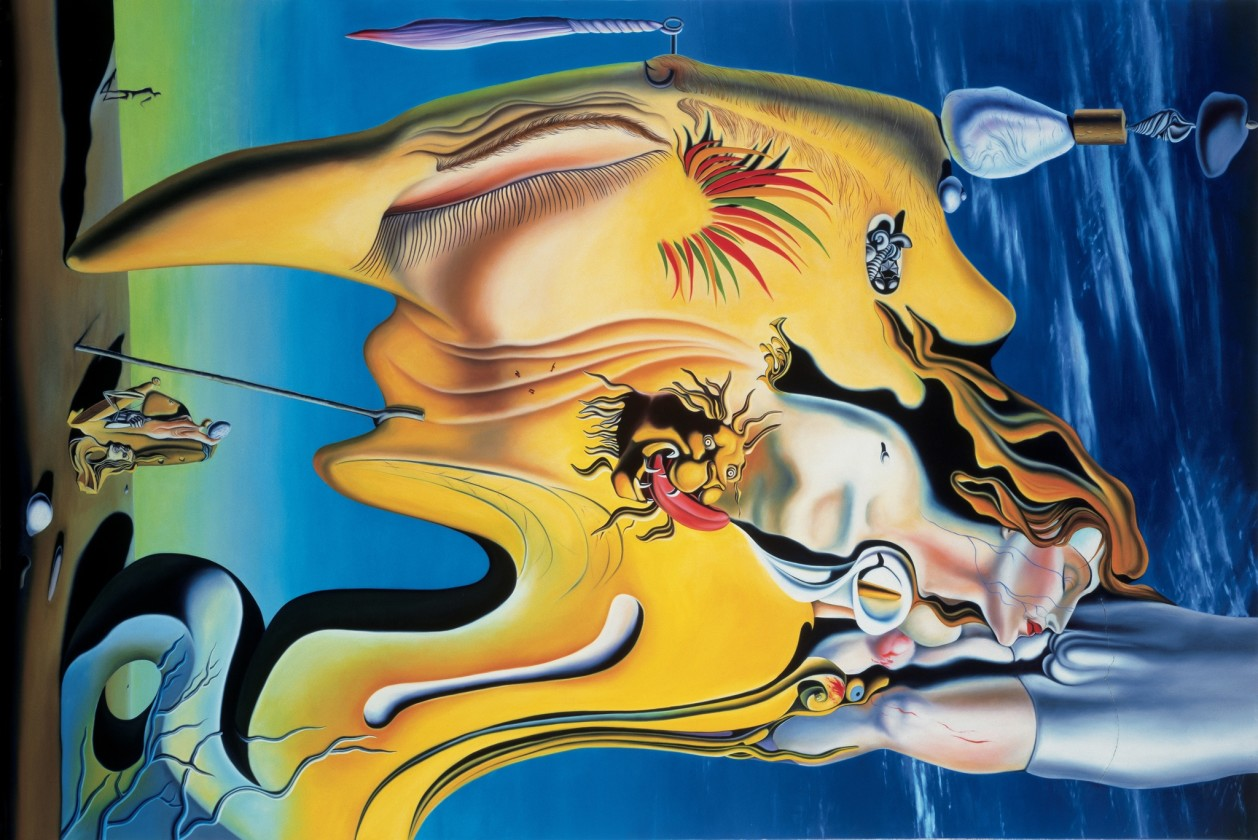 Glenn Brown, You take My Place In This Showdown (after 'The Great Masturbator' 1929 by Salvador Dali), 1993