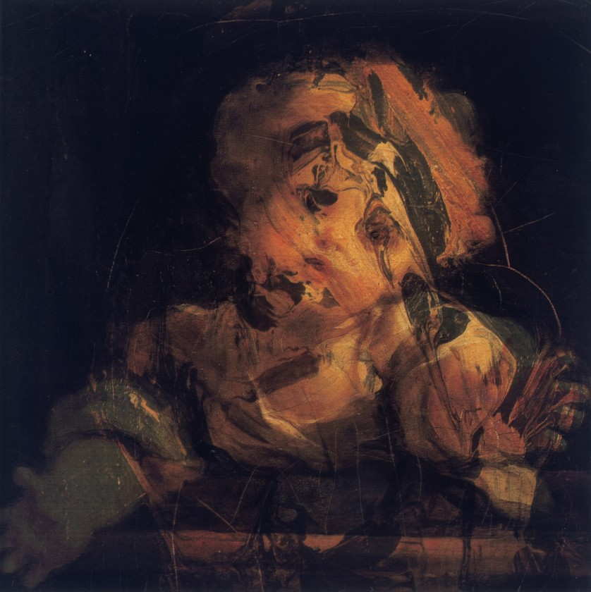 Glenn Brown, Fragonard/Auerbach, 1999
