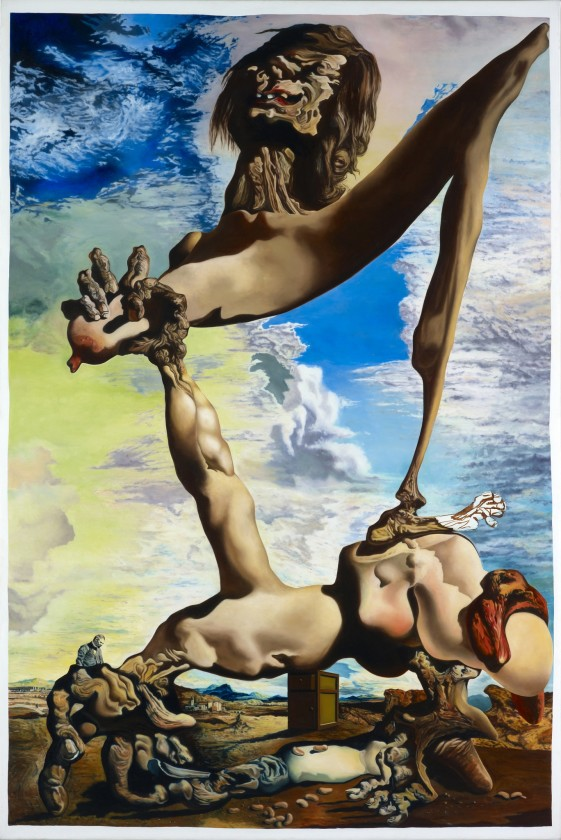 Glenn Brown, Dalí-Christ (after 'Soft Construction with Boiled Beans: Premonition of Civil War' 1936 by Salvador Dalí), 1992 By kind...