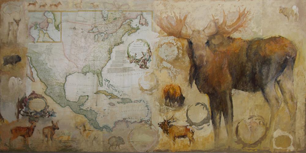 North America, 1752