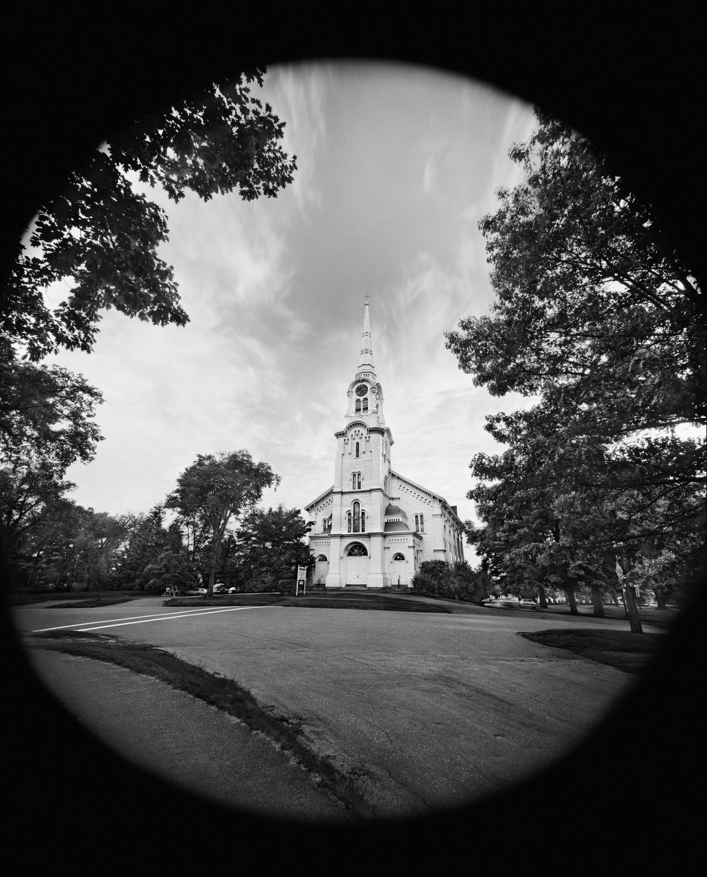 Scott Mead, Empty Church, 1975