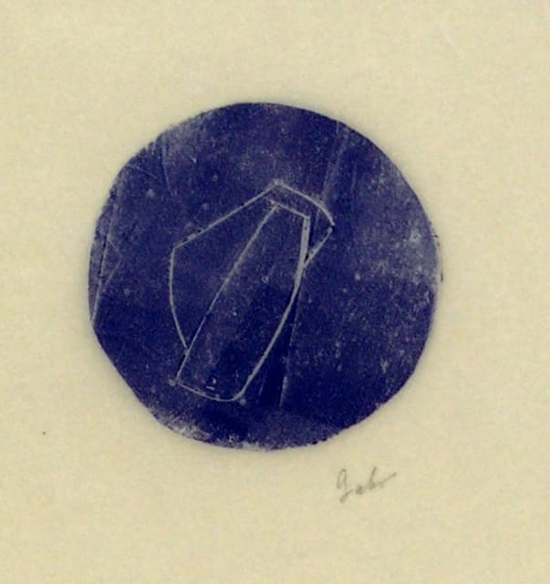 """Naum Gabo, Untitled """"Two Planes"""" WE 21, date unknown 
