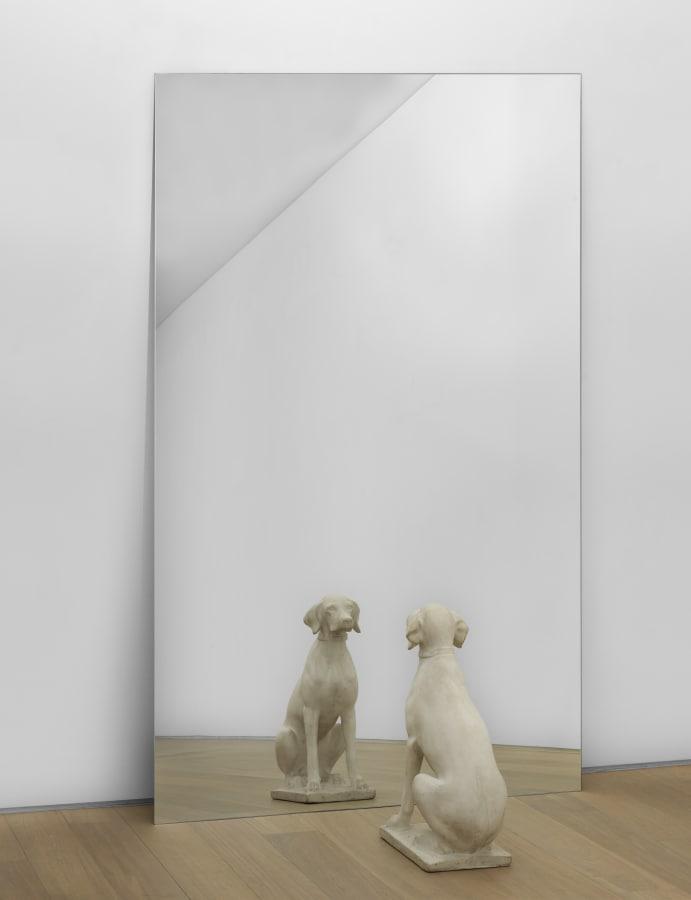 Michelangelo Pistoletto, Cane allo Specchio (Dog at the Mirror), 1971 | Simon Lee