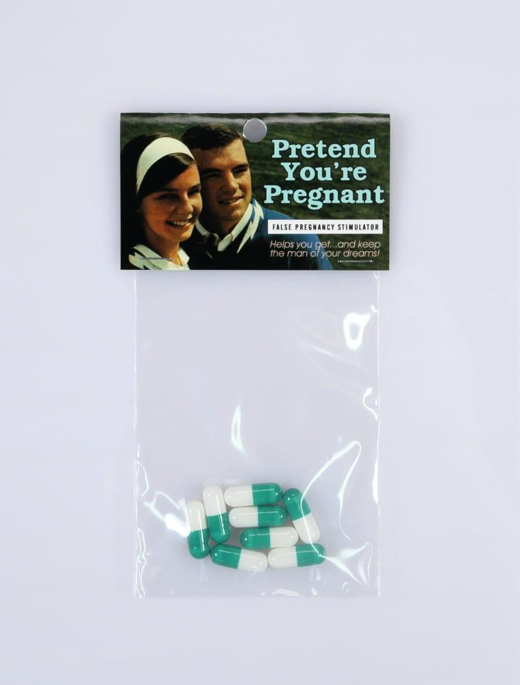 Pretend you're pregnant
