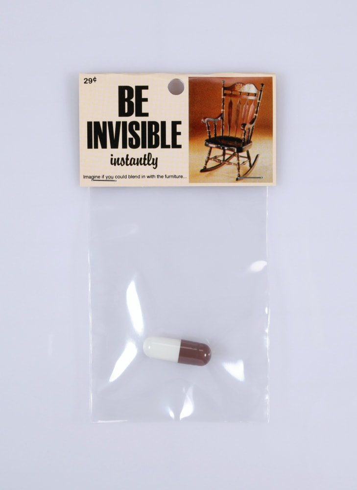 Be invisible instantly