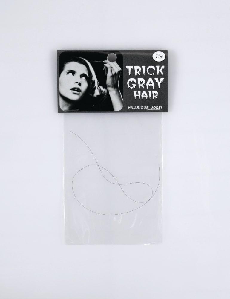 Trick grey hair