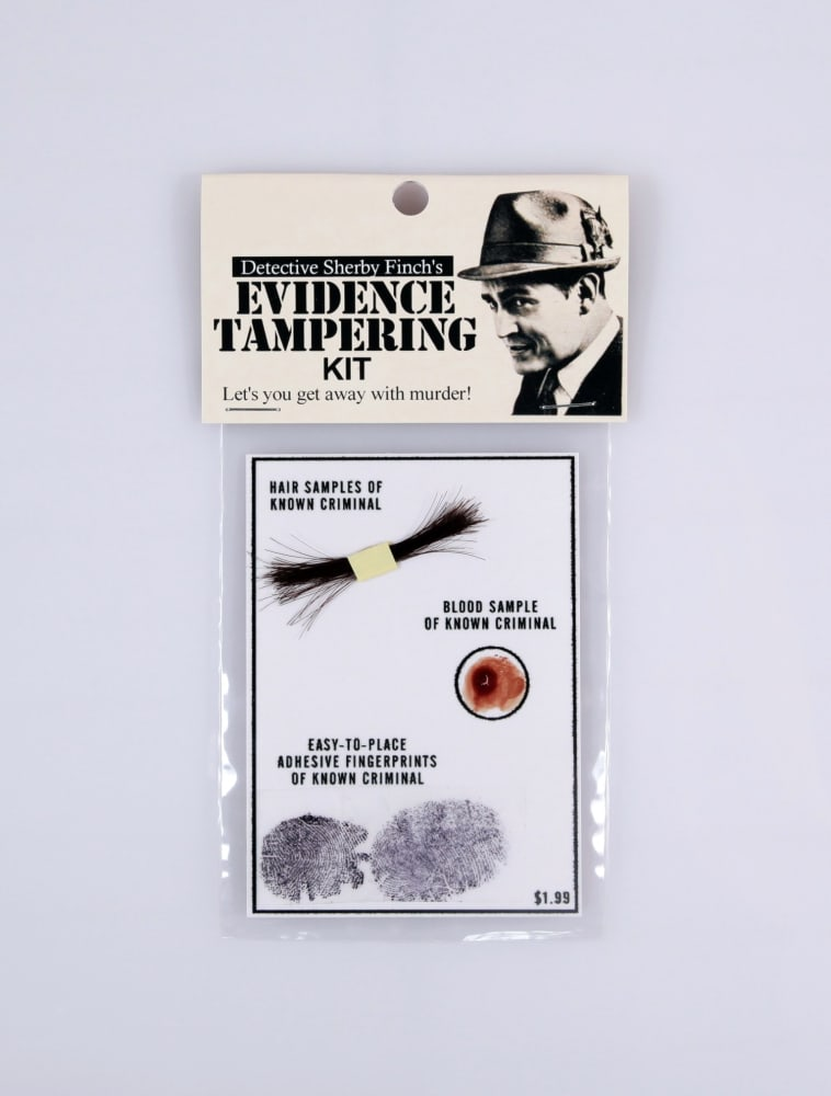 Detective Sherby Waters' evidence tempering kit