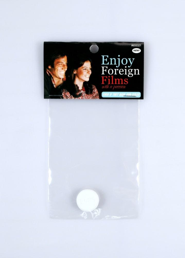 Enjoy foreign films