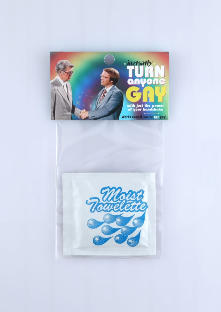 Turn anyone gay with just the power of your handshake