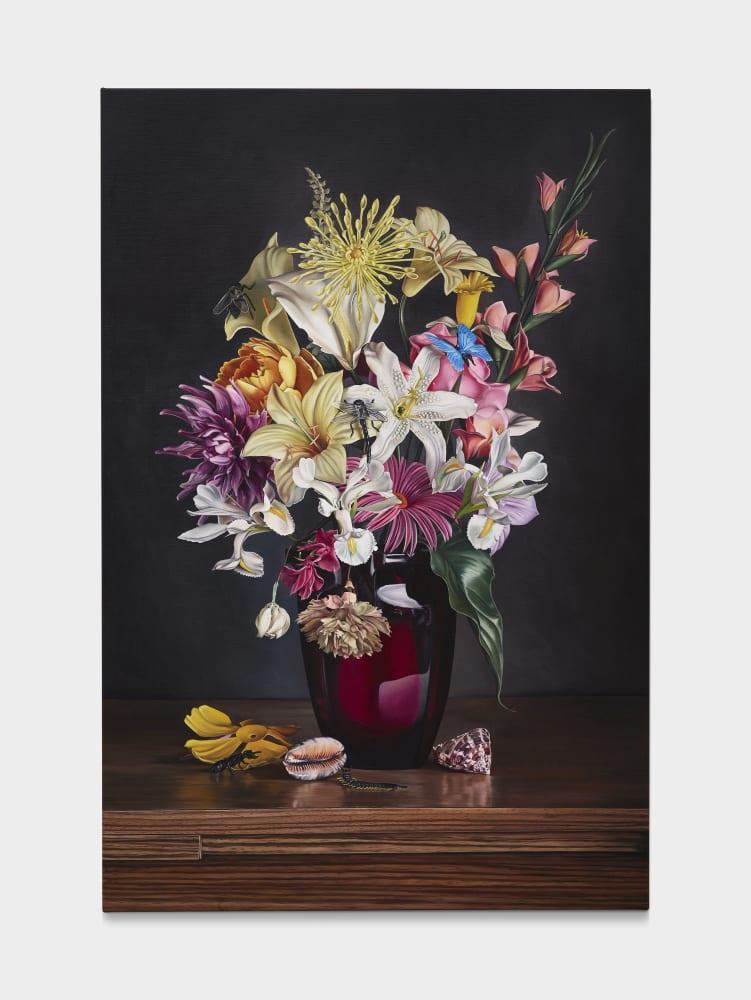 Till RABUS, Plastic flowers 1, 2019
