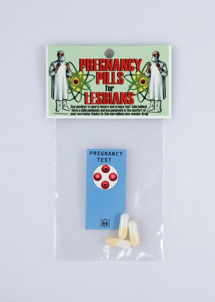 Jesus Had A Sister Productions, Pregnancy pills for lesbians, 1997