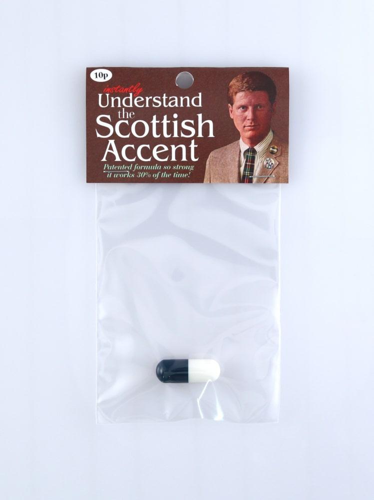 Understand the Scottish accent