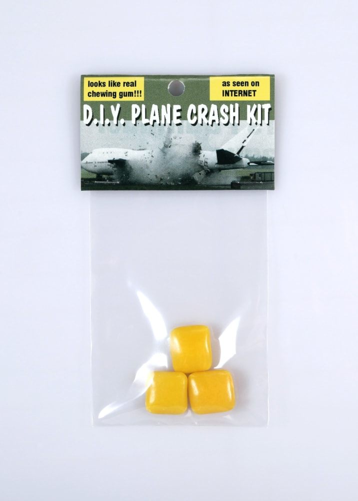 D.I.Y. plane crash kit