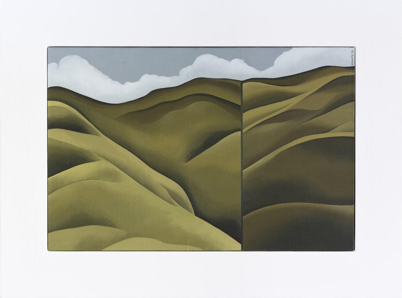 Robin WHITE, Untitled [Porirua Hills], 1970