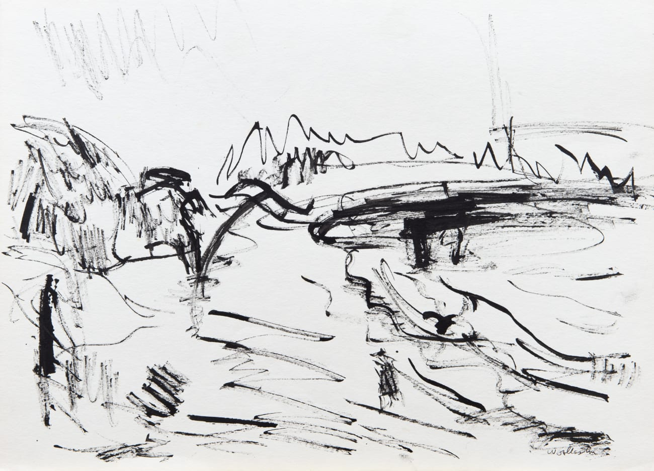 Mt Cook from Cobden Beach 1
