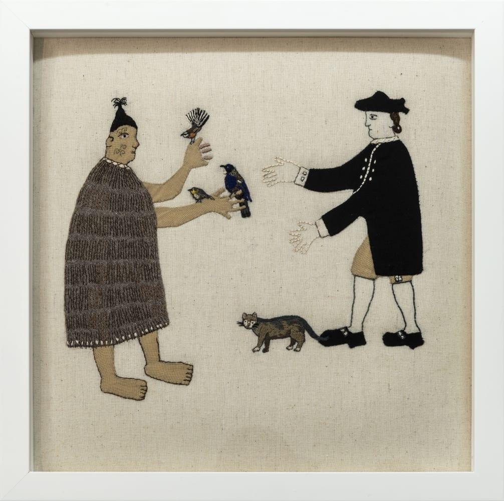 Trade Item: Cat, Tui, Kereru, Piwakawaka