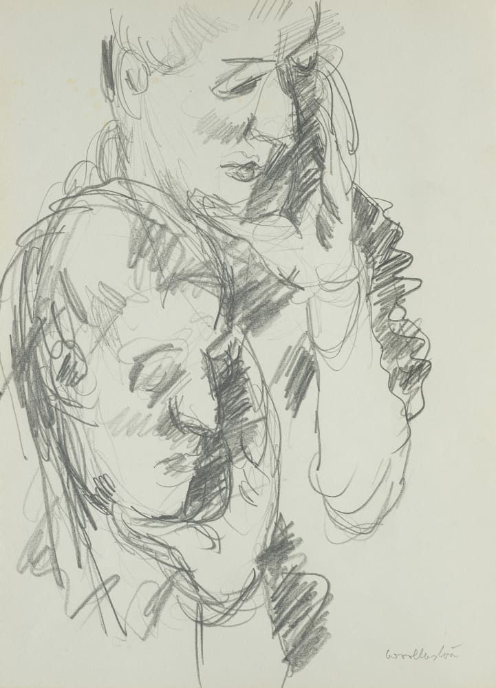 David Graham (two heads with chins resting in hands)