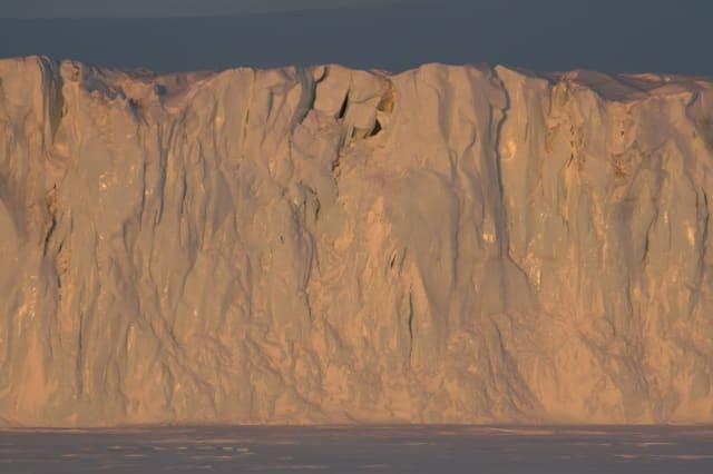 Grahame Sydney, Barne Glacier 3, 1/10, 2008
