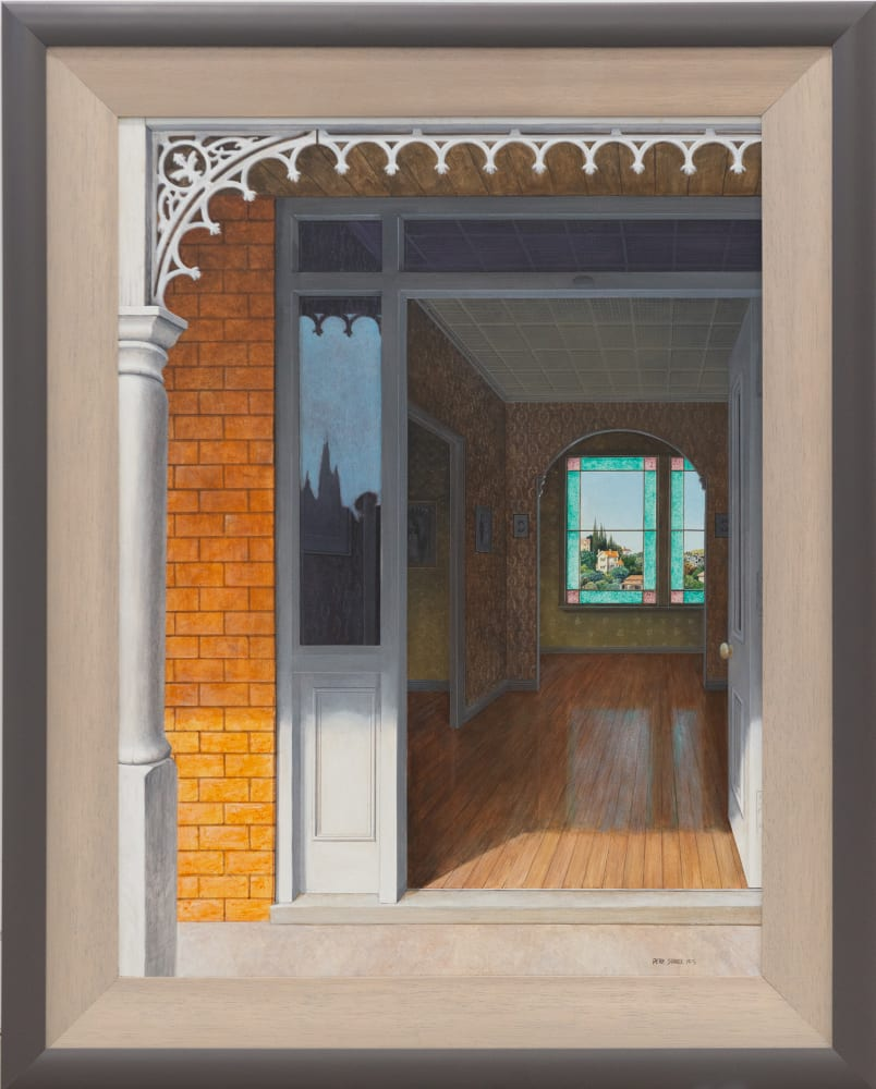 Peter Siddell, Untitled (View into a Villa), 1975