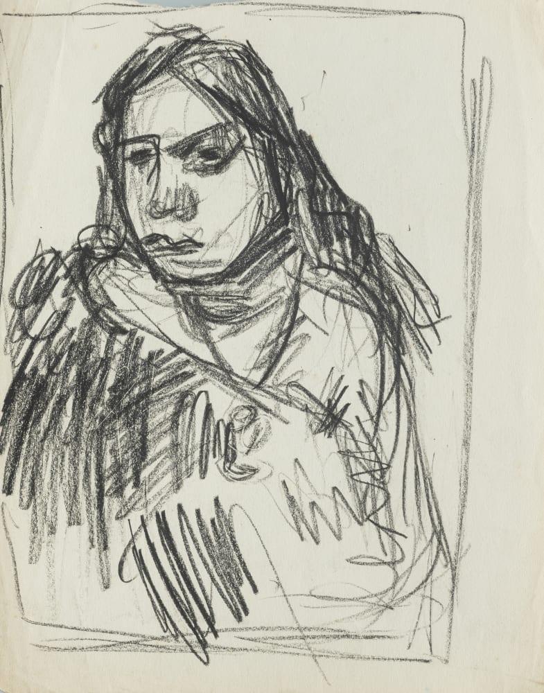 Head of a Maori Girl II