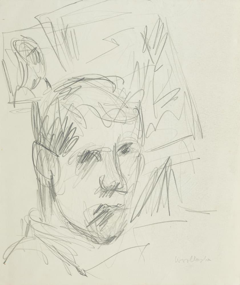 Self-Portrait (male head)