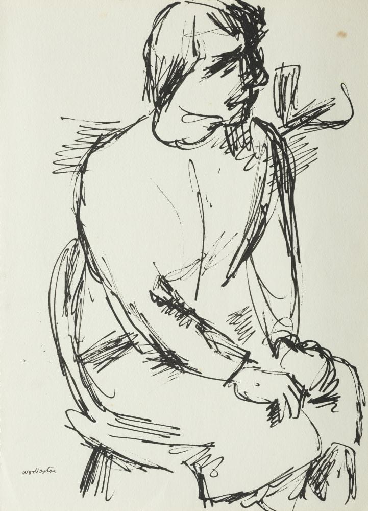 A Nurse (seated figure)