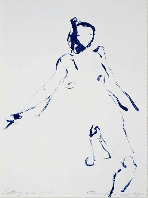 Tracey Emin, Sitting With You, 2013