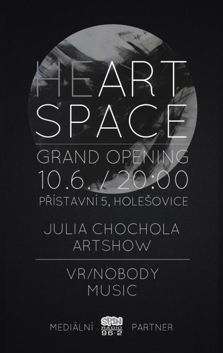 Heart space gallery opening - Prague 2015
