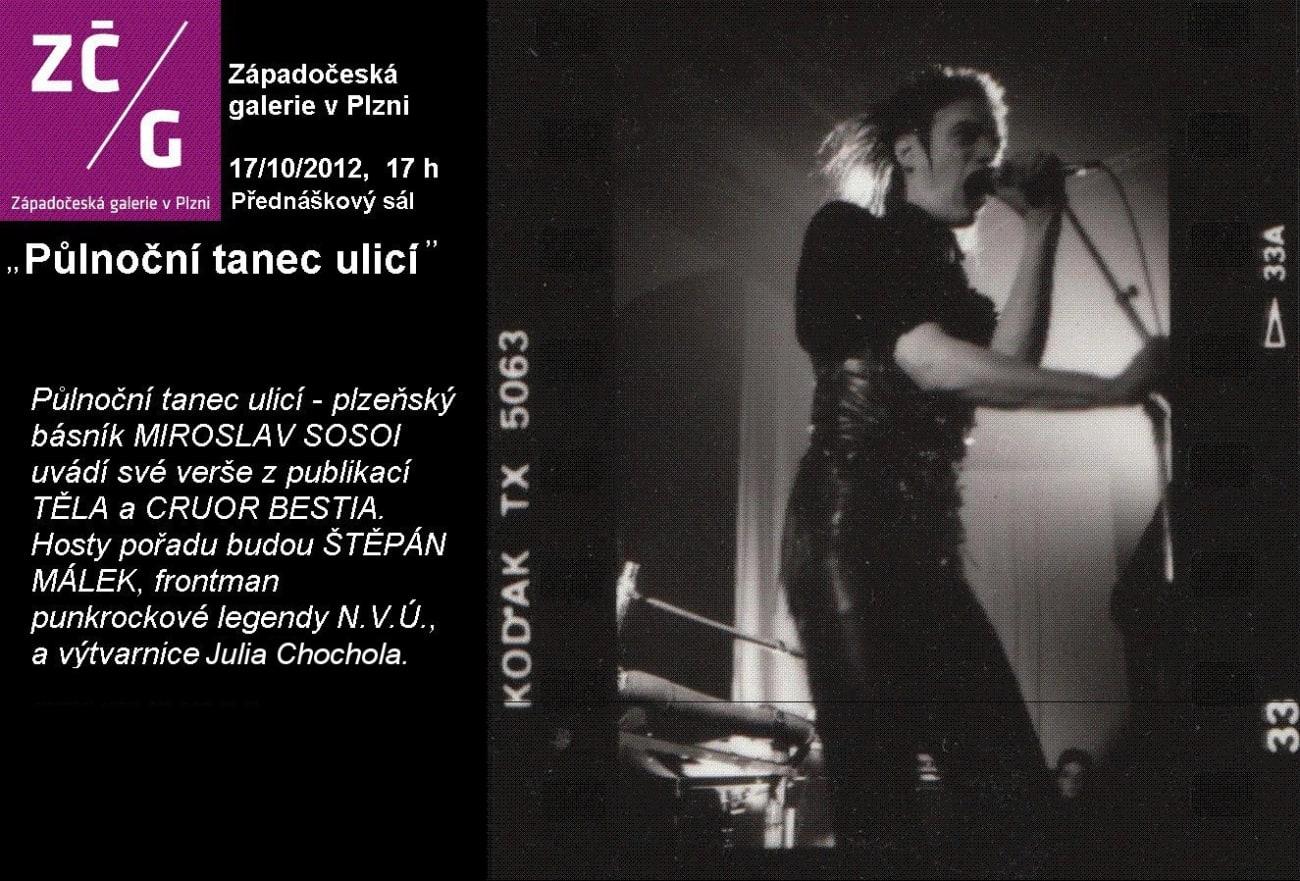 Půlnoční tanec ulicí - Západočeská galerie v plzni 2012