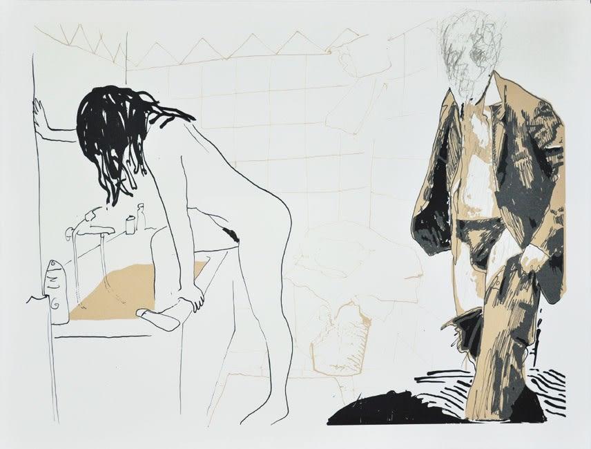 Jonathan DELACHAUX Un jour avec Naïma, 2014 Day view