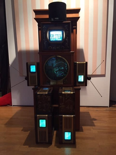Nam June Paik Abraham Lincoln, 1990