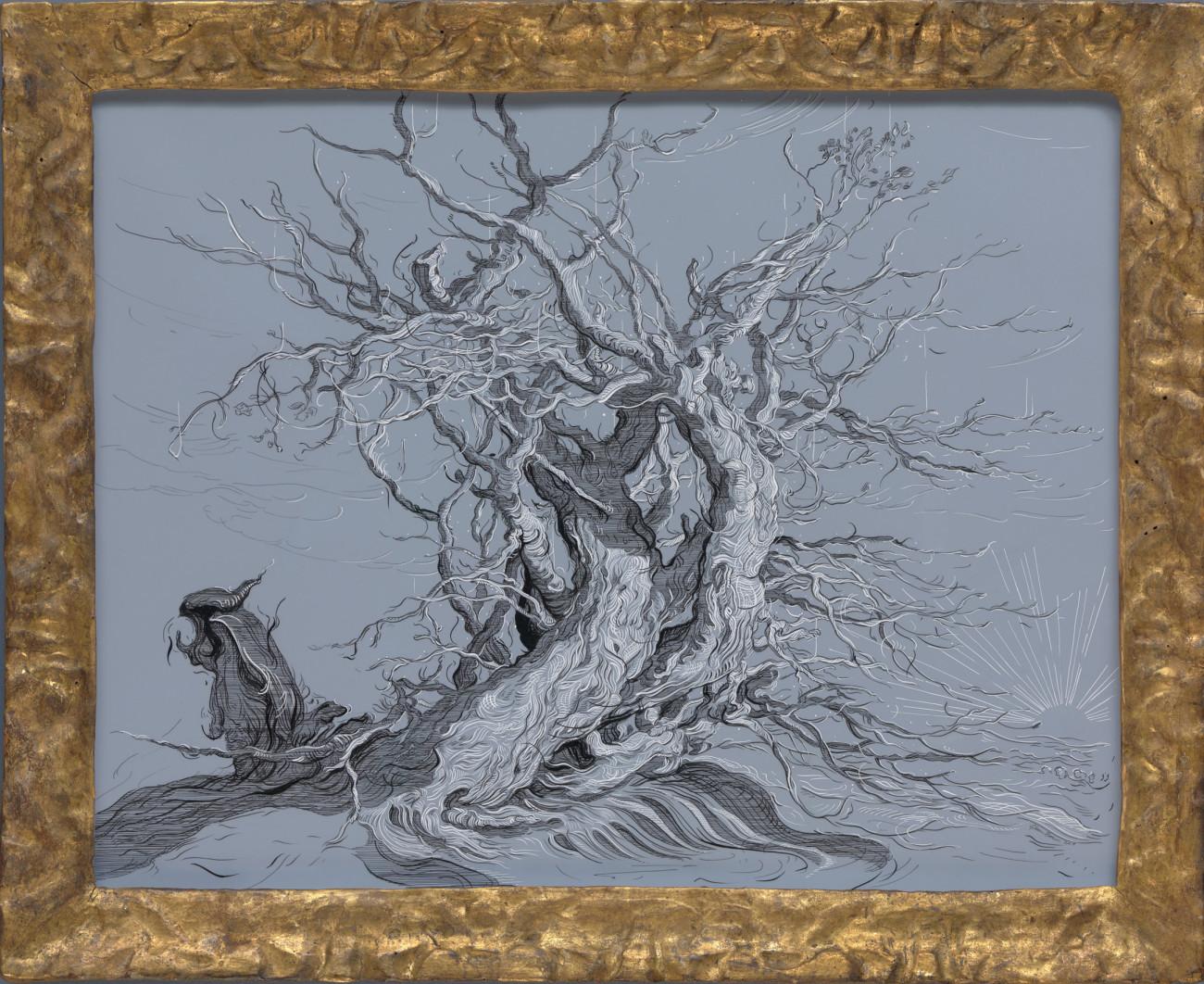 Drawing 2 (after Bloemaert)