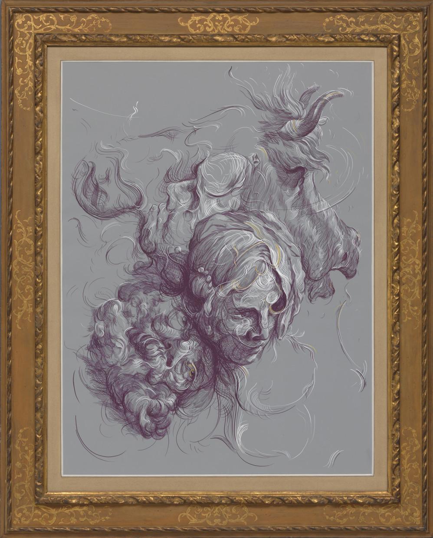 Drawing 6 (after Grimaldi/Greuze)
