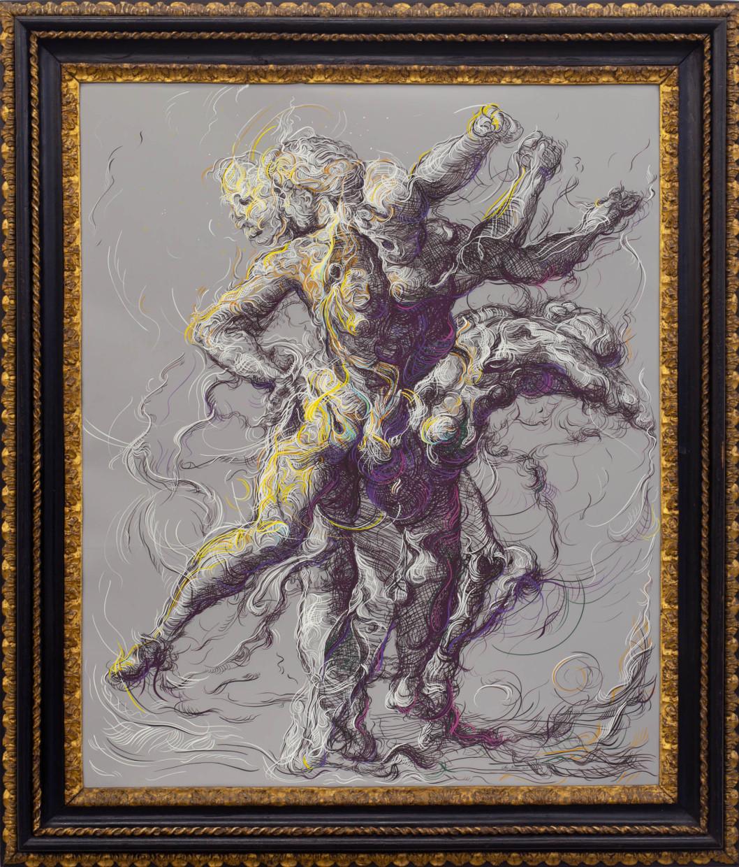 Drawing 2 (after Delacroix/Raphael)
