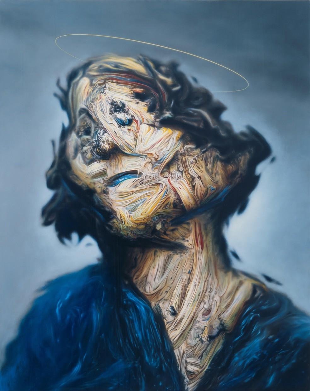 Dark Angel (for Ian Curtis) after Chris Foss