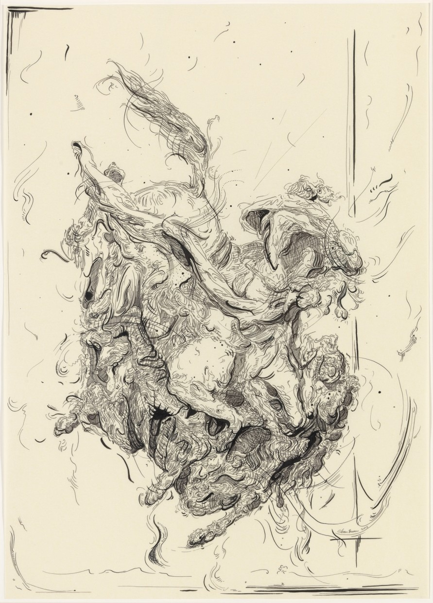 Drawing 30 (after Delacroix)